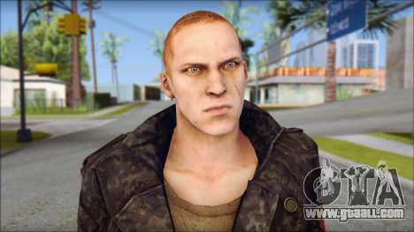 Jake Muller from Resident Evil 6 for GTA San Andreas third screenshot