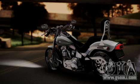 Harley-Davidson FXSTS Springer Softail for GTA San Andreas left view