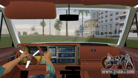 Jeep Cherokee v1.0 BETA for GTA Vice City back left view