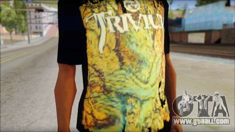 Trivium T-Shirt Mod for GTA San Andreas third screenshot