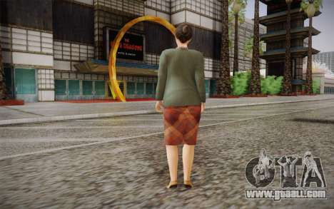 Elderly woman for GTA San Andreas second screenshot