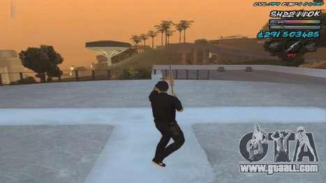 C-HUD by ShnoorOK for GTA San Andreas