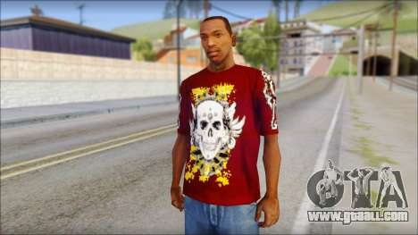 Skull T-Shirt for GTA San Andreas