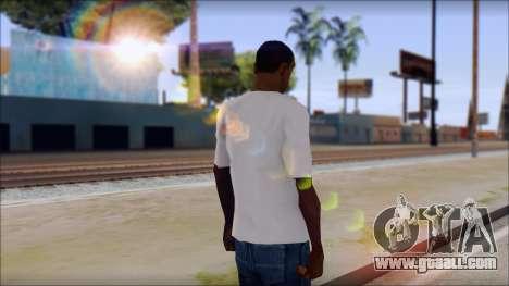 Axl Rose T-Shirt Mod for GTA San Andreas second screenshot
