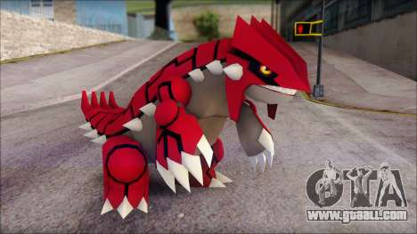 Groudon Pokemon for GTA San Andreas