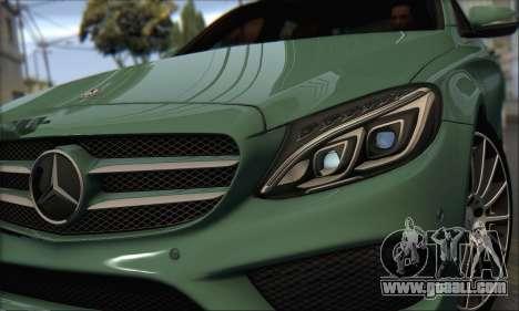 Mercedes-Benz C250 V1.0 2014 for GTA San Andreas left view