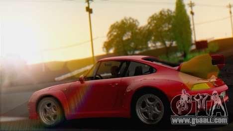 Porsche 911 GT2 (993) 1995 V1.0 EU Plate for GTA San Andreas right view