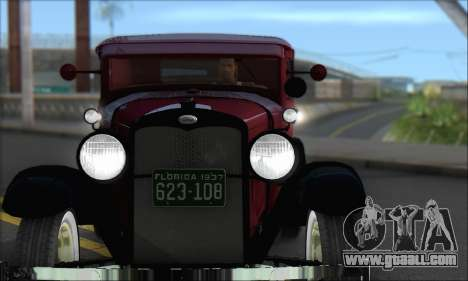 Ford A 1930 for GTA San Andreas left view