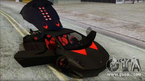 Lamborghini Sesto Elemento Concept 2010 for GTA San Andreas bottom view