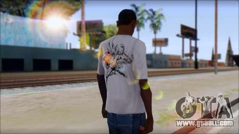 Superman T-Shirt for GTA San Andreas second screenshot