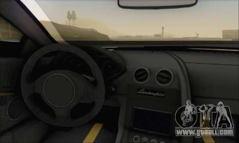 Lamborghini Reventon for GTA San Andreas back left view
