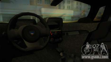 Marussia B2 2010 for GTA Vice City right view