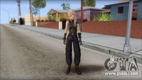 Final Fantasy XIII - Lightning Lowpoly for GTA San Andreas