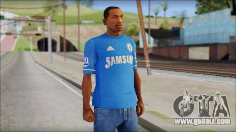 Chelsea FC 12-13 Home Jersey for GTA San Andreas