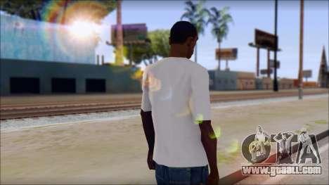 Anarchy T-Shirt v3 for GTA San Andreas second screenshot