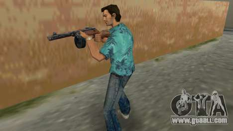 Submachine Gun Shpagina for GTA Vice City second screenshot