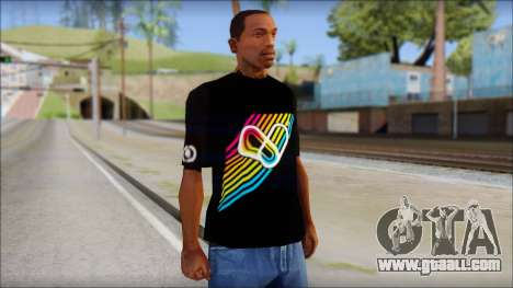 I Love Electro T-Shirt for GTA San Andreas