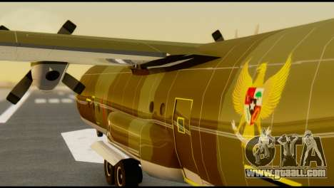 C-130 Hercules Indonesia Air Force for GTA San Andreas inner view