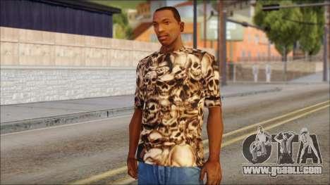 Skulls Shirt for GTA San Andreas
