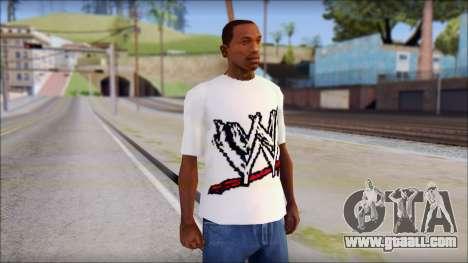 WWE Logo T-Shirt mod v1 for GTA San Andreas