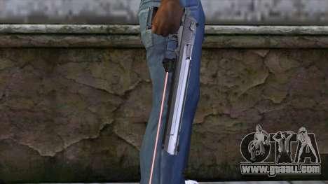 Desert Eagle with laser sight for GTA San Andreas third screenshot