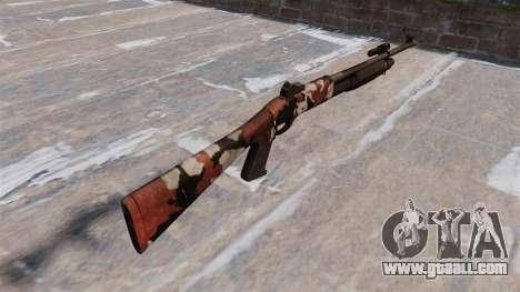 Ружьё Benelli M3 Super 90 bloodshot for GTA 4 second screenshot