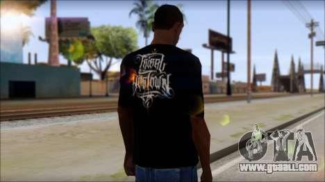 Tribal DOG Town T-Shirt Black for GTA San Andreas second screenshot