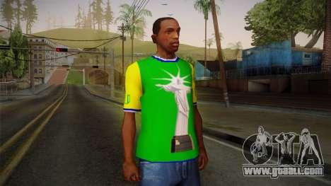 RIO T-Shirt for GTA San Andreas