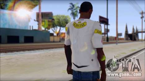 Colo Colo 09 T-Shirt for GTA San Andreas second screenshot