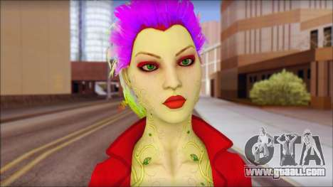 Poison Ivy PED for GTA San Andreas third screenshot