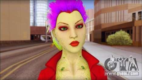 Poison Ivy PED for GTA San Andreas third screenshot