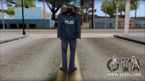 Deutscher Polizist for GTA San Andreas second screenshot