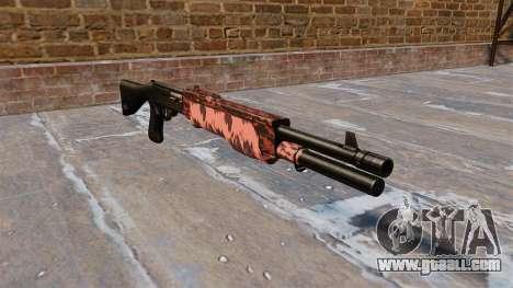 Ружье Franchi SPAS-12 Red tiger for GTA 4