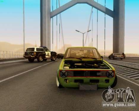 Volkswagen Golf Mk I for GTA San Andreas