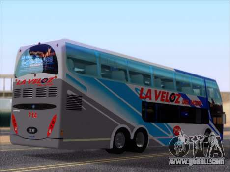 Metalsur Starbus DP 1 6x2 - La Veloz del Norte for GTA San Andreas right view