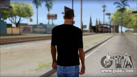 Metallica Master Of Puppets T-Shirt for GTA San Andreas second screenshot