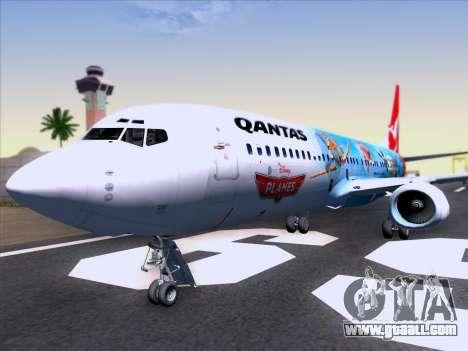 Boeing 737-800 Qantas for GTA San Andreas interior