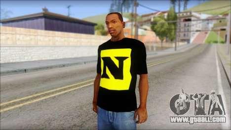 WWE Nexus T-Shirt for GTA San Andreas