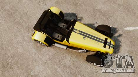 Caterham Seven 620 R for GTA 4 right view