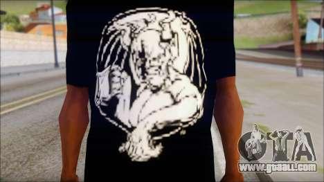 Diablo T-Shirt for GTA San Andreas third screenshot