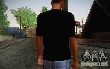 Batman Swag Shirt for GTA San Andreas second screenshot