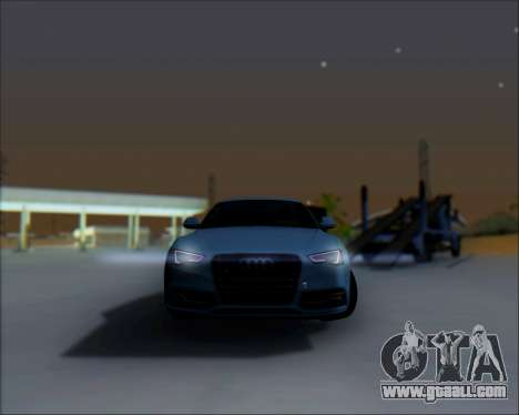 Audi A7 for GTA San Andreas side view
