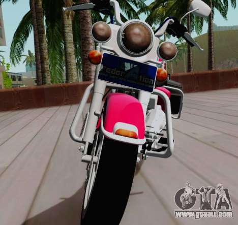 Harley-Davidson Road King Classic 2011 for GTA San Andreas right view