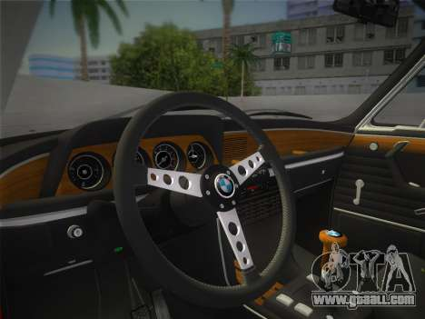 BMW 3.0 CSL 1971 for GTA Vice City right view