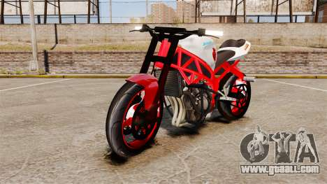 Kawasaki Ninja ZX6R Stunt for GTA 4