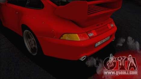 Porsche 911 GT2 (993) 1995 V1.0 EU Plate for GTA San Andreas engine