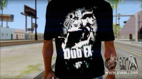 Dub Fx Fan T-Shirt v1 for GTA San Andreas third screenshot