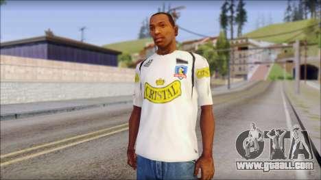 Colo Colo 09 T-Shirt for GTA San Andreas