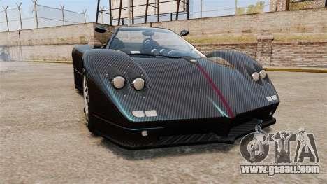 Pagani Zonda C12S Roadster 2001 v1.1 PJ3 for GTA 4