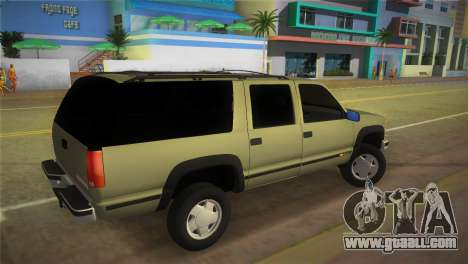 Chevrolet Suburban 1996 GMT400 for GTA Vice City left view